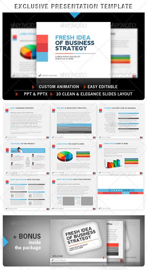GraphicRiver Exclusive Powerpoint Template 235595
