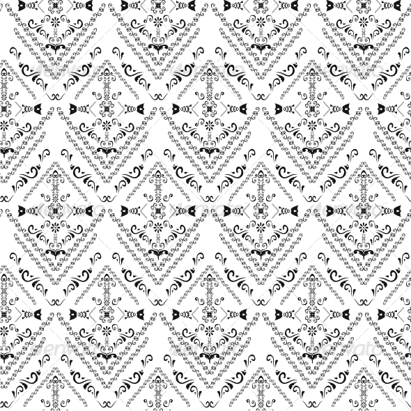 Seamless classicism pattern