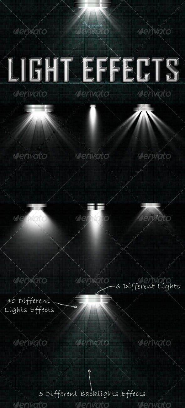 Light Effects Set 2 - Decorative Graphics