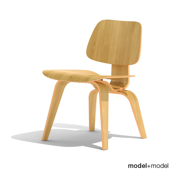 Eames DCW (Dining Chair Wood) - 3DOcean Item for Sale