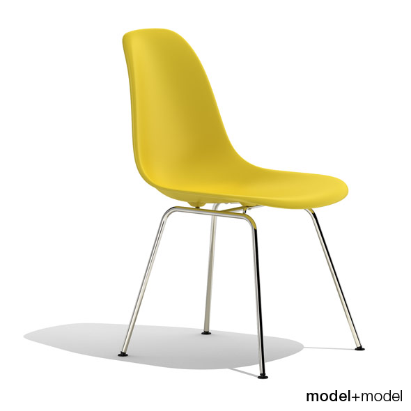 3DOcean Eames Plastic Side Chair DSX 235687