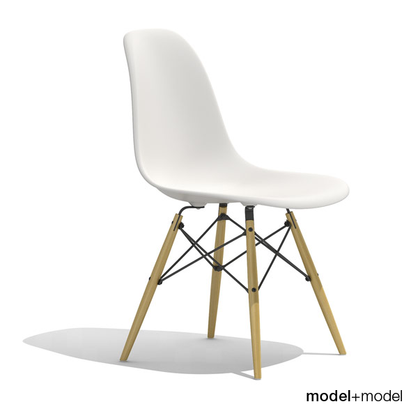 3DOcean Eames Plastic Side Chair DSW 235688