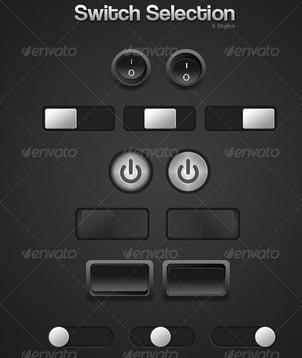 GraphicRiver Switch Button Selection 235787