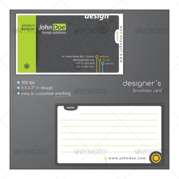 Designer's Bussiness Card - Creative Business Cards