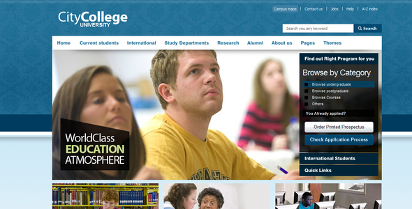 ThemeForest City College 235957