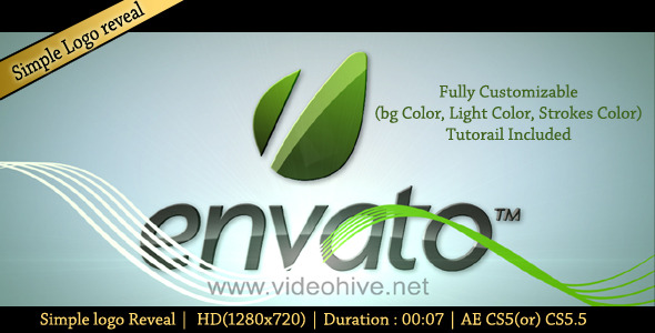 After Effects Project - VideoHive Simple Stroke Logo Reveal 2012637