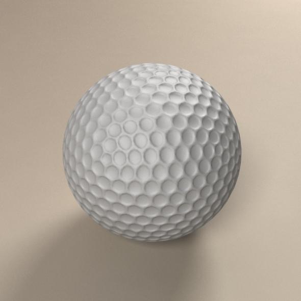3DOcean Golf Ball 235986