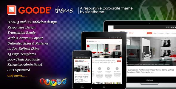 Goode WordPress Theme