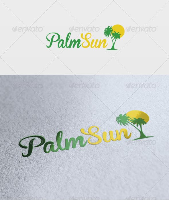 Palm Sun Logo