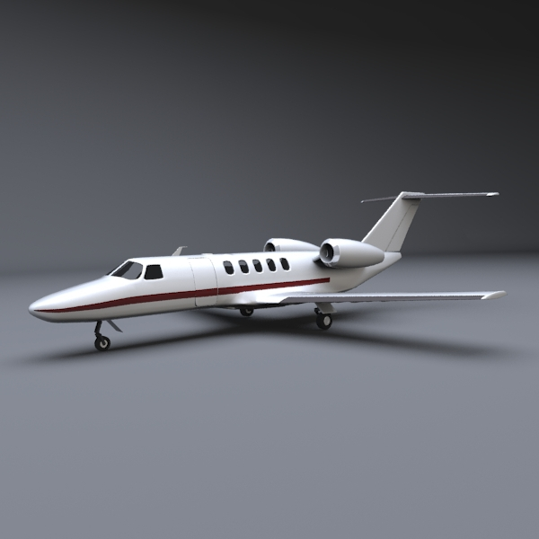 Cessna business jet - 3DOcean Item for Sale