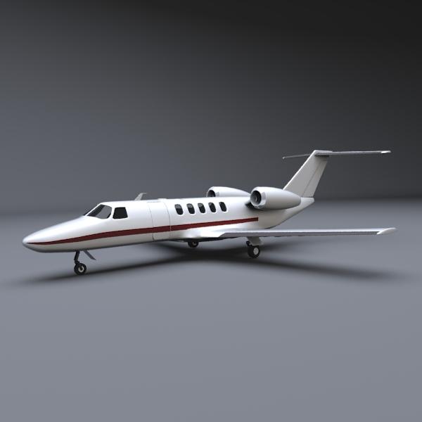 3DOcean Cessna business jet 236141