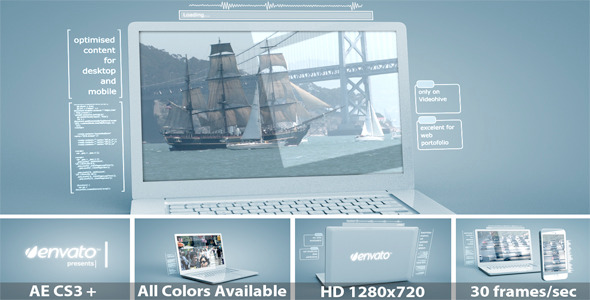 After Effects Project - VideoHive Device Portfolio Presentation 2032403