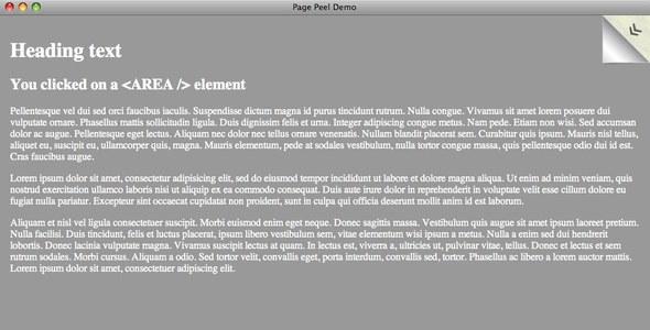 CodeCanyon JSized Page Peel 77509