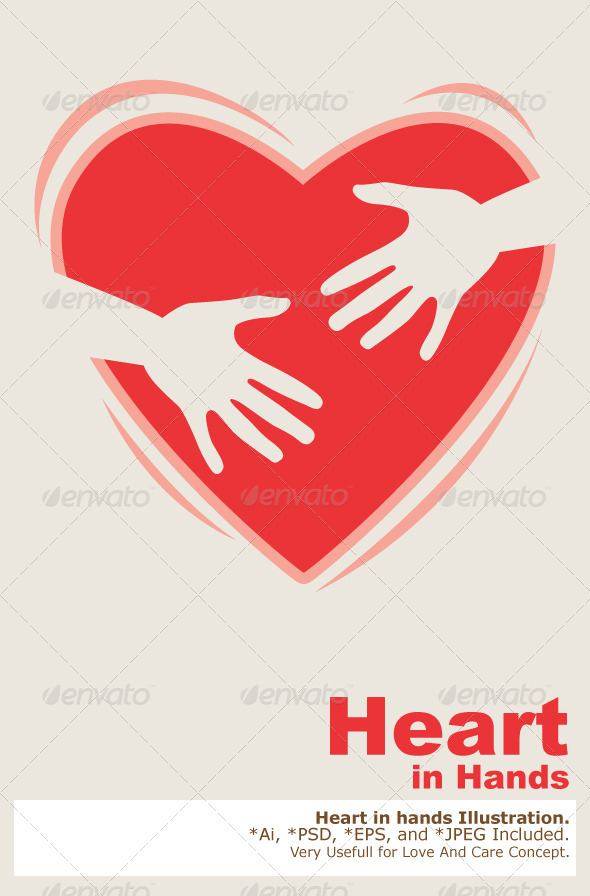 GraphicRiver Heart In Hands 2033080