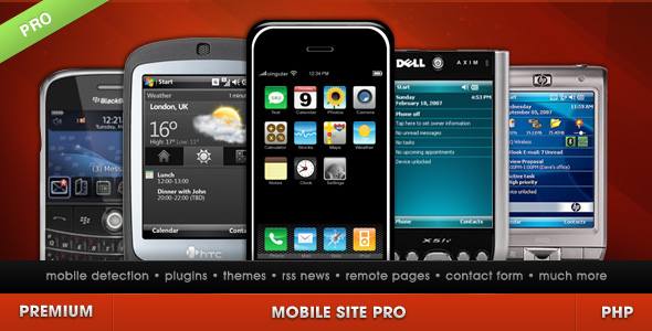 Mobile Site PRO - CodeCanyon Item for Sale