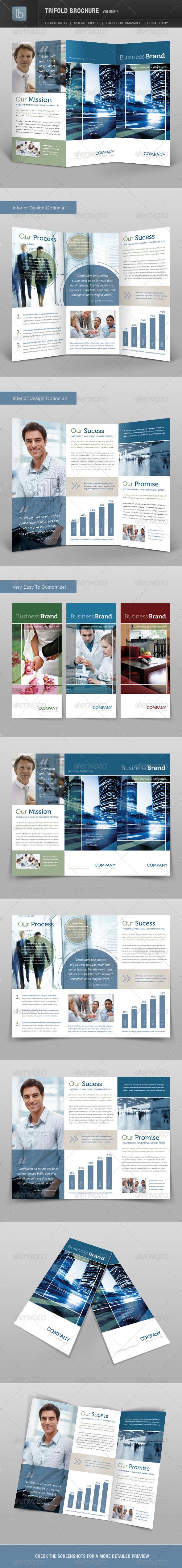 GraphicRiver Trifold Brochure Volume 4 2034402