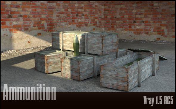 3DOcean Ammunition 77551