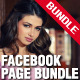 Premium Facebook Page Template Bundle - ActiveDen Item for Sale