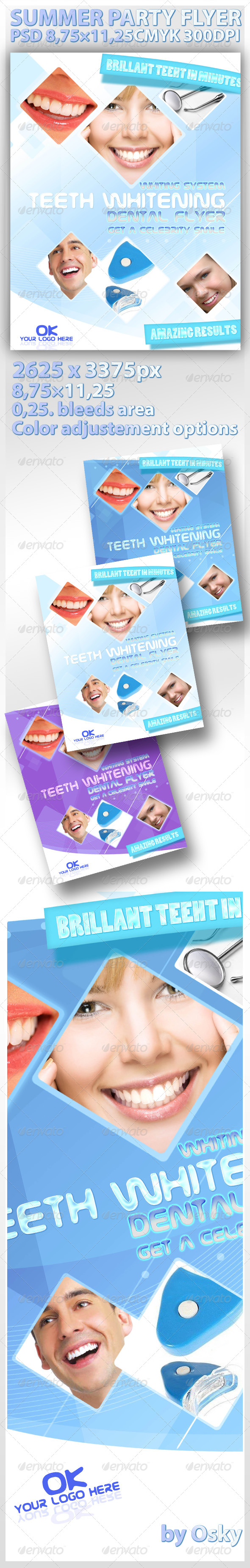 GraphicRiver Professional Dental Flyer 236721