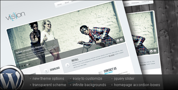 Vision - Wordpress Business & Portfolio theme