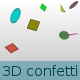 3D falling confetti - ActiveDen Item for Sale