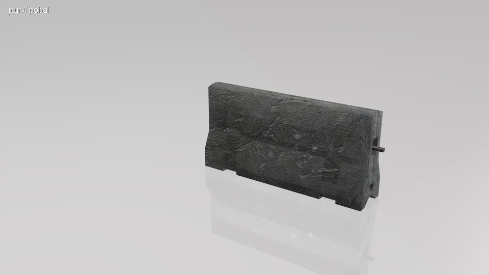 3DOcean Concrete Road Divider 236965