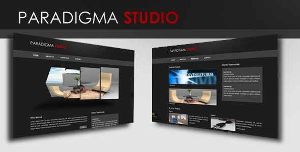 Paradigma Studio - 3D Slider - Preview Image