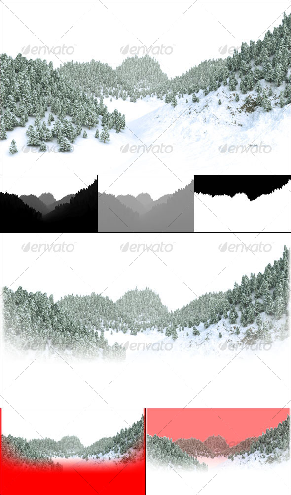 GraphicRiver Winter Forest 77530
