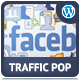 Facebook Traffic Pop for WordPress