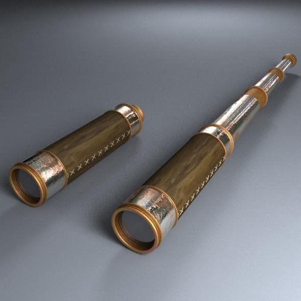 3DOcean Old Telescope 237252