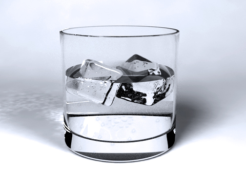 3DOcean Realistic Glass of Water 3D Models -  Food and drinks 237417