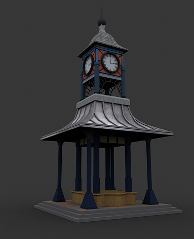 3DOcean Clock Tower 237418