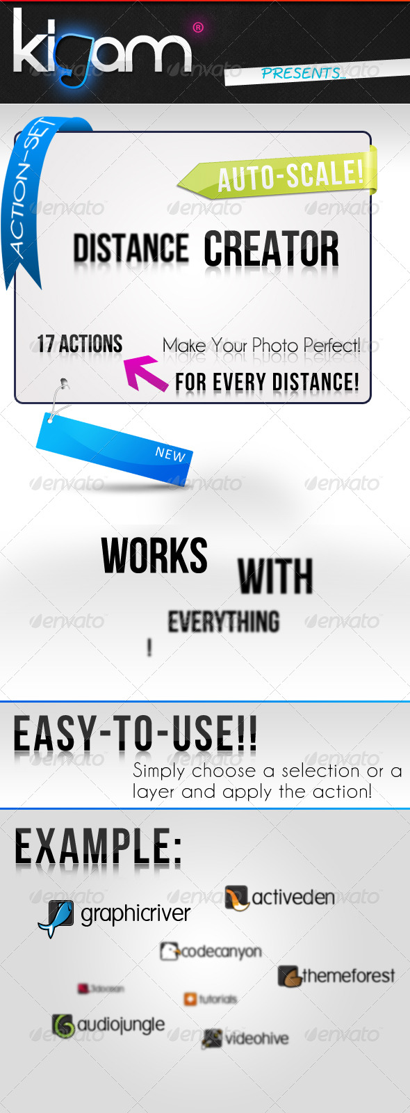GraphicRiver Distance Creator Action 237466