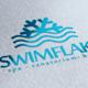 Swim Flake Logo