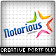Notorious Creative Portfolio Template - ThemeForest Item for Sale
