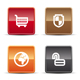 Glossy Internet Icons - Set 4 - GraphicRiver Item for Sale
