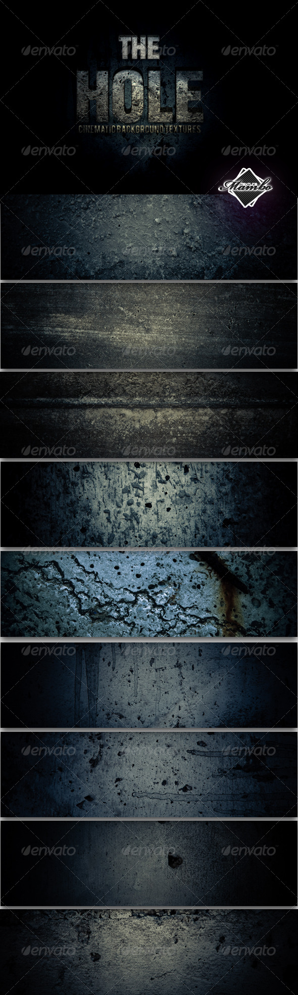 GraphicRiver The Hole Cinematic Background Textures 237822