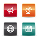 Glossy Internet Icons - Set 6 - GraphicRiver Item for Sale