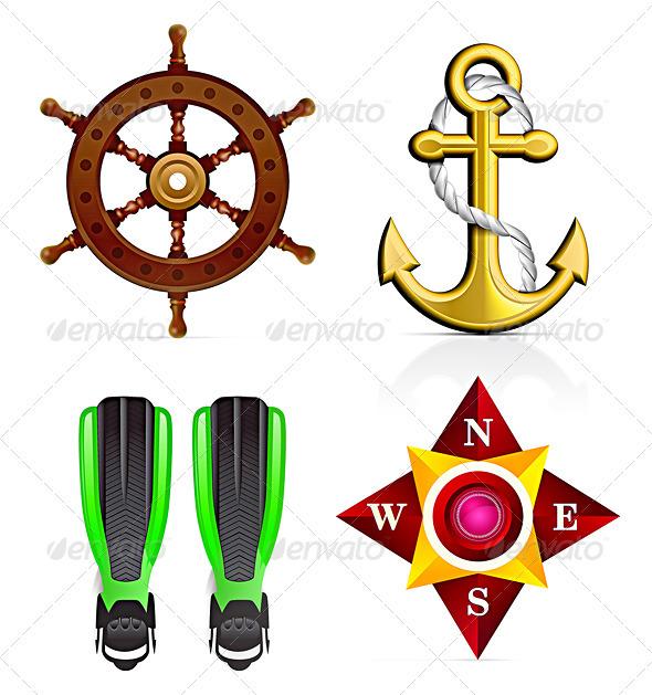 Sailor Icon Set