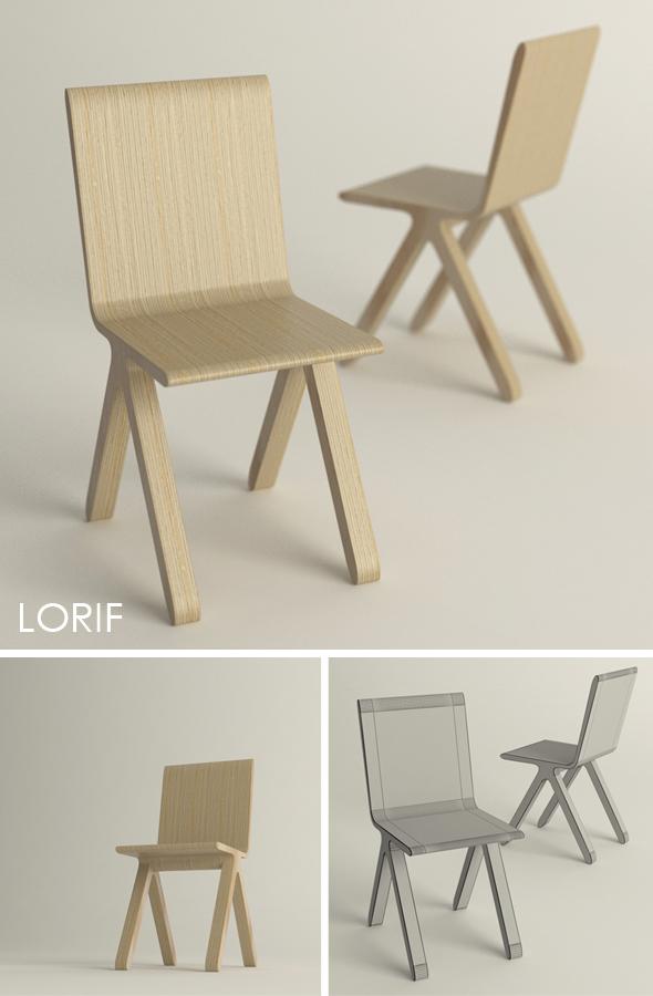 3DOcean Punkalive Kampa chair 238109