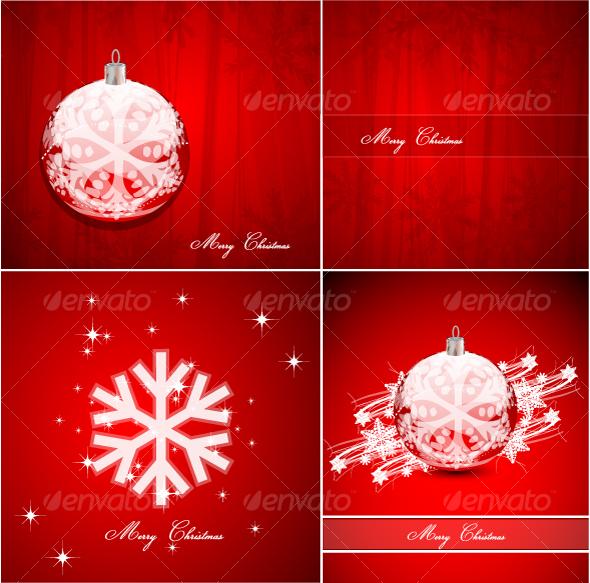 Pack of Christmas background - Christmas Seasons/Holidays
