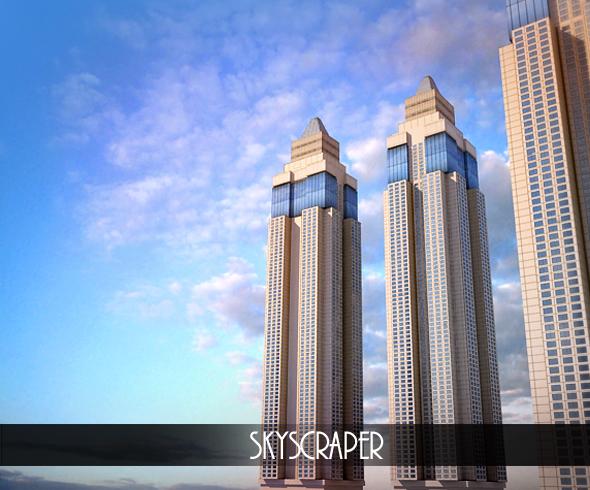 3DOcean Skyscraper 78105
