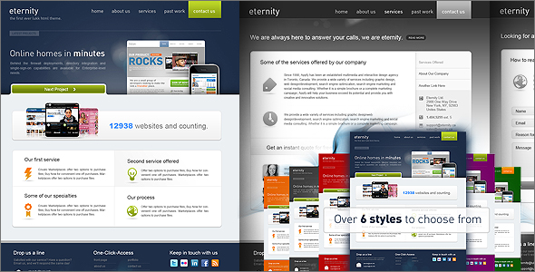 Eternity Premium Theme
