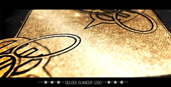 VideoHive Golden Glamour Logo 2055611