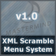 Scramble Menu - XML - Modular - OOP - ActiveDen Item for Sale