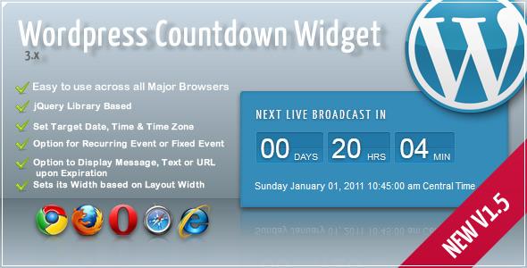 CodeCanyon Broadcast Countdown Widget 1539525