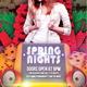Spring Nights Flyer Template
