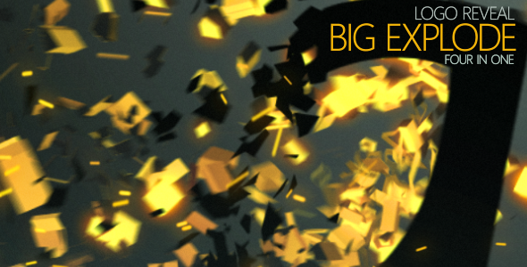 VideoHive Logo Reveal Big Explode 2058192