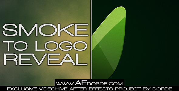 After Effects Project - VideoHive Smoke To Logo Reveal 2058435