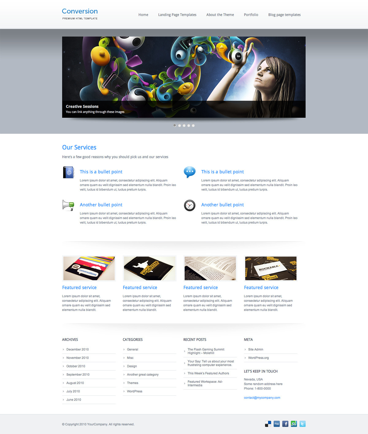 Conversion - Premium HTML Template - Conversion - Premium HTML Template